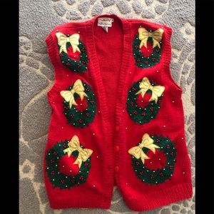 Sweaters - Ugly sweater VEST